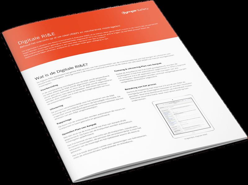 Productsheet Digitale RI&E applicatie